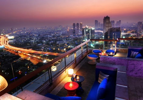 シティビュー Mode Sathorn Hotel Bangkok